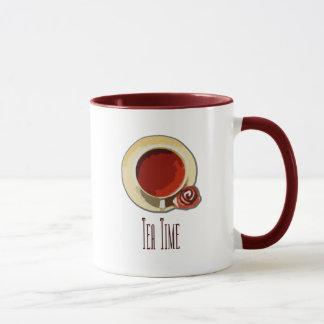 Tee-Zeit Tasse