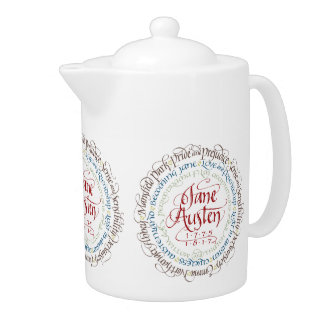 Teekanne - Jane Austen-Zeitraum-Drama-Anpassungen