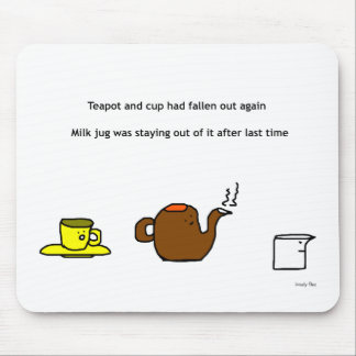 Teekanne Mousemat Mauspad