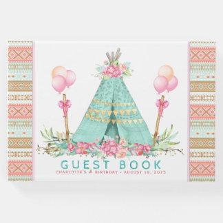 Teepee-Geburtstags-Party-Gast-Buch Gästebuch