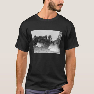 Teepees-historisches Foto T-Shirt