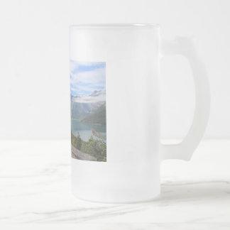 Teeschale für Leute, die schöne Landschaften Mattglas Bierglas
