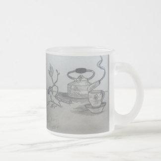 Teezeit Mattglastasse