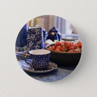 Teezeit Runder Button 5,1 Cm