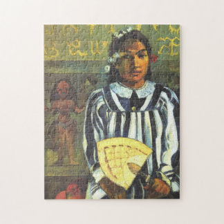"""Tehamana hat viele Vorfahren"" - Paul Gauguin Puzzle"