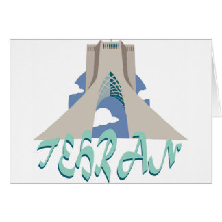Teheran-Turm Karte