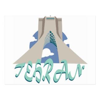 Teheran-Turm Postkarte