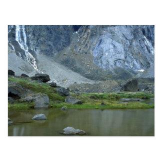 Teich unter BergThor auf Baffin-Insel, NWT, kann Postkarte