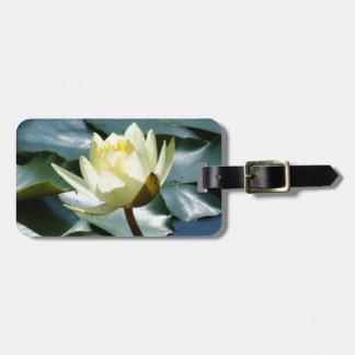 Teich-Wasser-Garten-Wasserlilie-Blume Kofferanhänger