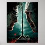 Teil 2 Harry Potters 7 - Harry gegen Voldemort Plakat