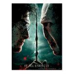 Teil 2 Harry Potters 7 - Harry gegen Voldemort Postkarten