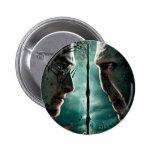 Teil 2 Harry Potters 7 - Harry gegen Voldemort Runder Button 5,1 Cm