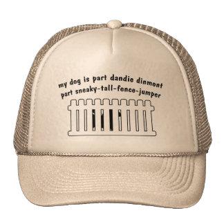 Teil Dandie Dinmont Teil Zaun-Pullover Baseballmütze