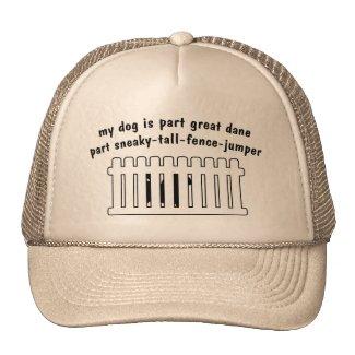 Teil-Dogge-Teil Zaun-Pullover Netzcap