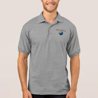 Teilen Sie das Geschenk retten die Leben Polo Tshirt