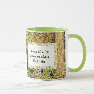 teilen Sie die Erde Tasse