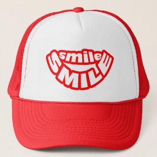 Teilen Sie ein Lächeln Red Hat Truckerkappe