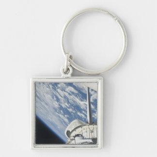 Teilweise Ansicht der Raumfähre-Bemühung Schlüsselanhänger