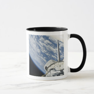 Teilweise Ansicht der Raumfähre-Bemühung Tasse