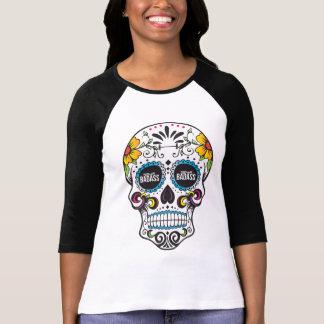 TEILZEITBADASS- Zuckerschädel Raglan T-Shirt