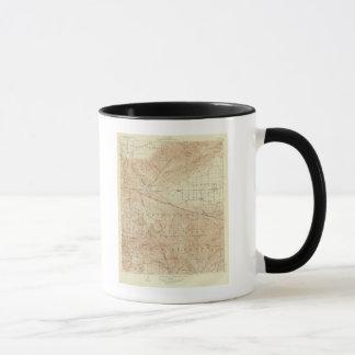 Tejon Viereck, das San- Andreasriß zeigt Tasse