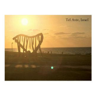Tel Aviv, Israel Postkarte
