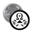 Telecomix Logo-Knopf Buttons