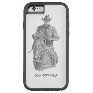 Telefon-Abdeckung des Cowboy-GON-RIDN Tough Xtreme iPhone 6 Hülle