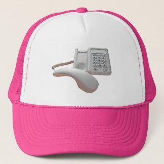 Telefon ersuchen um Griff Truckerkappe