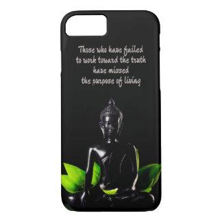 Telefon-Hüllen Buddha-Zitats 1 iPhone 8/7 Hülle