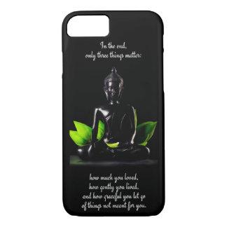 Telefon-Hüllen Buddha-Zitats 3 iPhone 8/7 Hülle