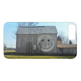 Telefon-Hüllenen-Vintage AmericanaSmiley-Scheune iPhone 8 Plus/7 Plus Hülle