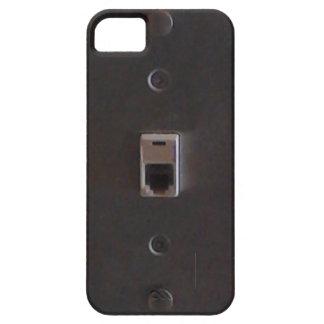 Telefon-Jack für Landlinie Zuhausetelefone Barely There iPhone 5 Hülle