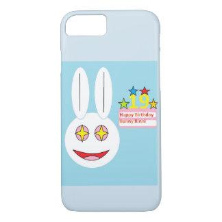 Telefon-Kasten-alles- Gute zum Geburtstaghäschen iPhone 8/7 Hülle