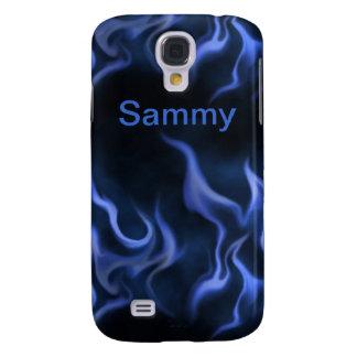 Telefon-Kasten blaue Flammen-Samsung-Galaxie-S4 Galaxy S4 Hülle