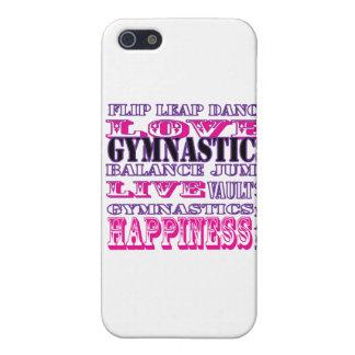 Telefon-Kasten der Gymnastik-I für Gymnasts Hülle Fürs iPhone 5