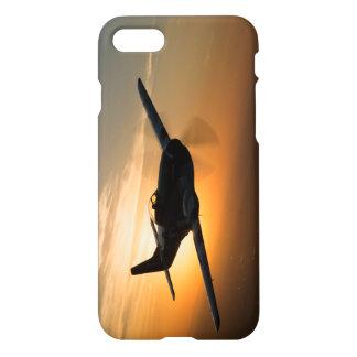 Telefon-Kasten des Sonnenuntergang-P-51 iPhone 8/7 Hülle