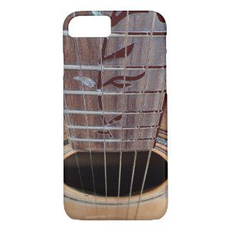 Telefon-Kasten dunkles Braun der Gitarre iPhone 8/7 Hülle