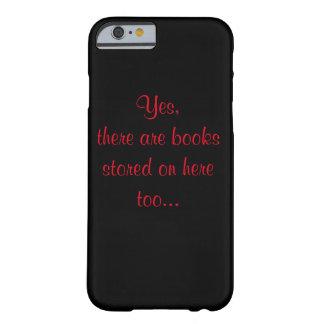 Telefon-Kasten für Buch-Süchtige Barely There iPhone 6 Hülle