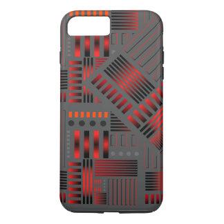 "Telefon-Kasten-""Kupfer-Rohr"" Entwurf iPhone 8 Plus/7 Plus Hülle"