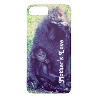 Telefon-Kasten mit Affen -- Kundengerecht iPhone 8 Plus/7 Plus Hülle