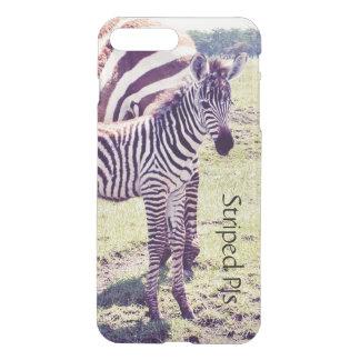 Telefon-Kasten mit einem Zebra -- Kundengerecht iPhone 8 Plus/7 Plus Hülle