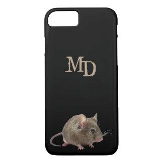 Telefon-Kasten mit einer kleinen Maus und Ihren iPhone 8/7 Hülle