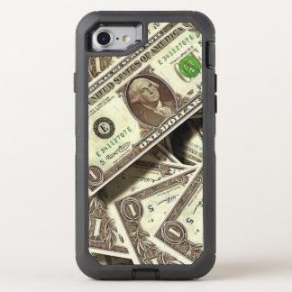 Telefon Otterbox Fall Dollarschein-Druck-I OtterBox Defender iPhone 8/7 Hülle
