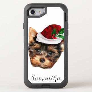 Telefon Weihnachtsyorkshires Terrier Otterbox OtterBox Defender iPhone 8/7 Hülle
