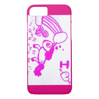 Telefon-/Zellenkasten mit funkelnd Unicorn iPhone 8/7 Hülle