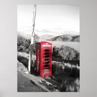 Telefon-Zuhause Poster