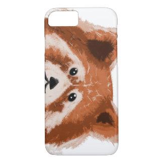 Telefonabdeckung des roten Pandas iPhone 8/7 Hülle