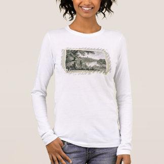 Telefonkarte von Humphrey Repton, graviert durch Langarm T-Shirt
