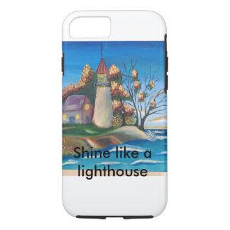 Telefonkasten Leuchtturm iPhone 7 Hülle